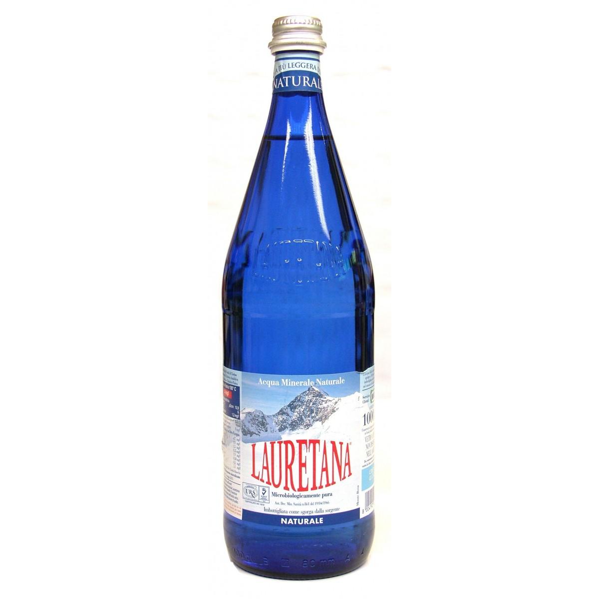 Lauretana naturale 1lt sa ba bevande for Acqua lauretana a domicilio roma