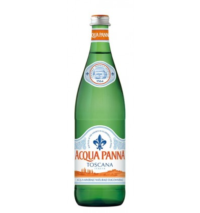 Acqua Panna in vetro 75cl Vendita al domicilio