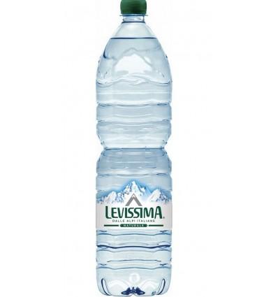 Acqua Levissima pet 1,5 lt Vendita al dettaglio e domicilio